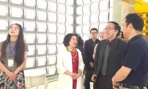 国家稽查特派员刘吉部长等领导·视察沭阳圆觉禅林