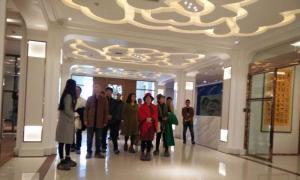 中国电视艺术家协会副秘书长雷鸣率其弟子以及陈昱光教授一行参观沭阳圆觉禅林