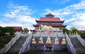 庆祝江西南宝讲寺生命纪念馆开工仪式